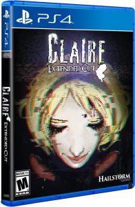 claire extended cut ps4 lrg limitedrungames.com cover