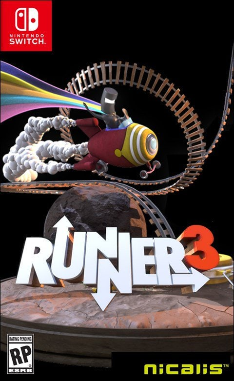 runner3 nicalis launch edition nintendo switch cover