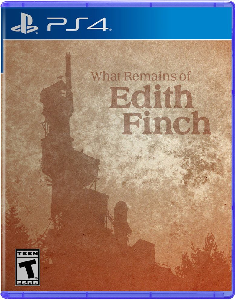 what remains of edith finch physical ps4 cover iam8bit
