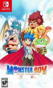 monster boy and the cursed kingdom fdg entertainment nintendo switch cover