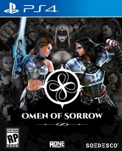 omen of sorrow soedesco ps4 cover