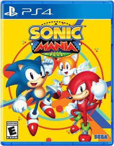 sonic mania plus sega nintendo switch ps4 cover