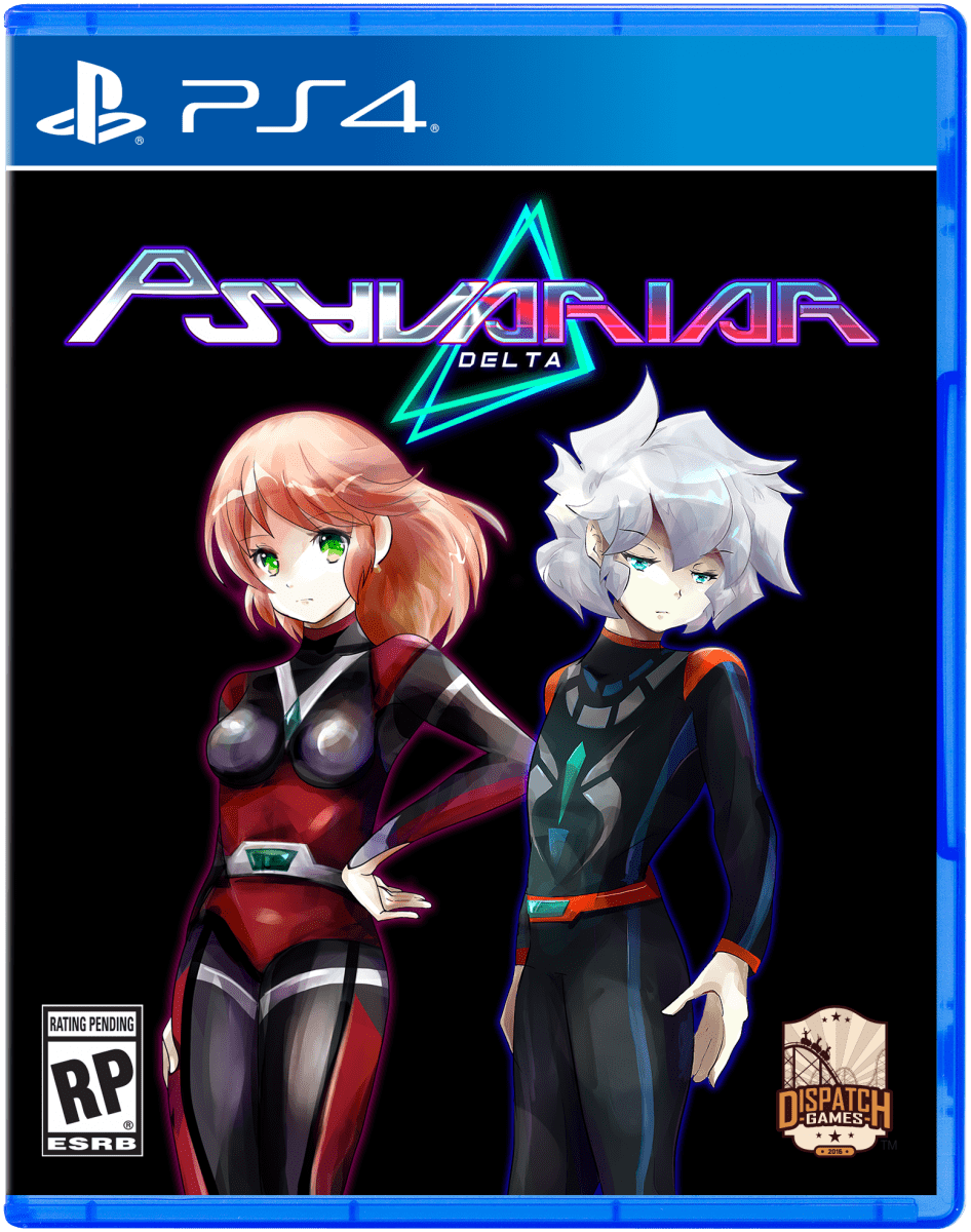 psyvariar delta readytodispatch.com ps4 cover