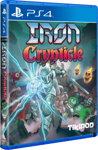 iron crypticle tikipod limitedrungames.com ps4 cover