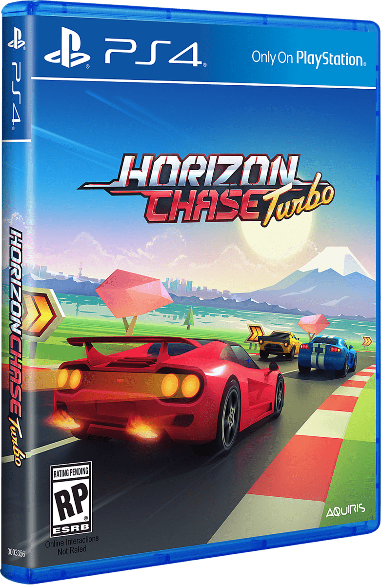 horizon chase turbo for playstation 4 limited game news. Black Bedroom Furniture Sets. Home Design Ideas