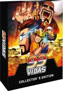 99Vidas Collectors Edition Strictly Limited Games PS4 Cover
