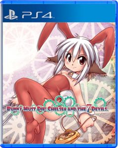 Bunny must die Strictly Limited Games PS4 Cover