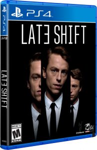 late shift limitedrungames.com limitedgamenews.com ps4 cover