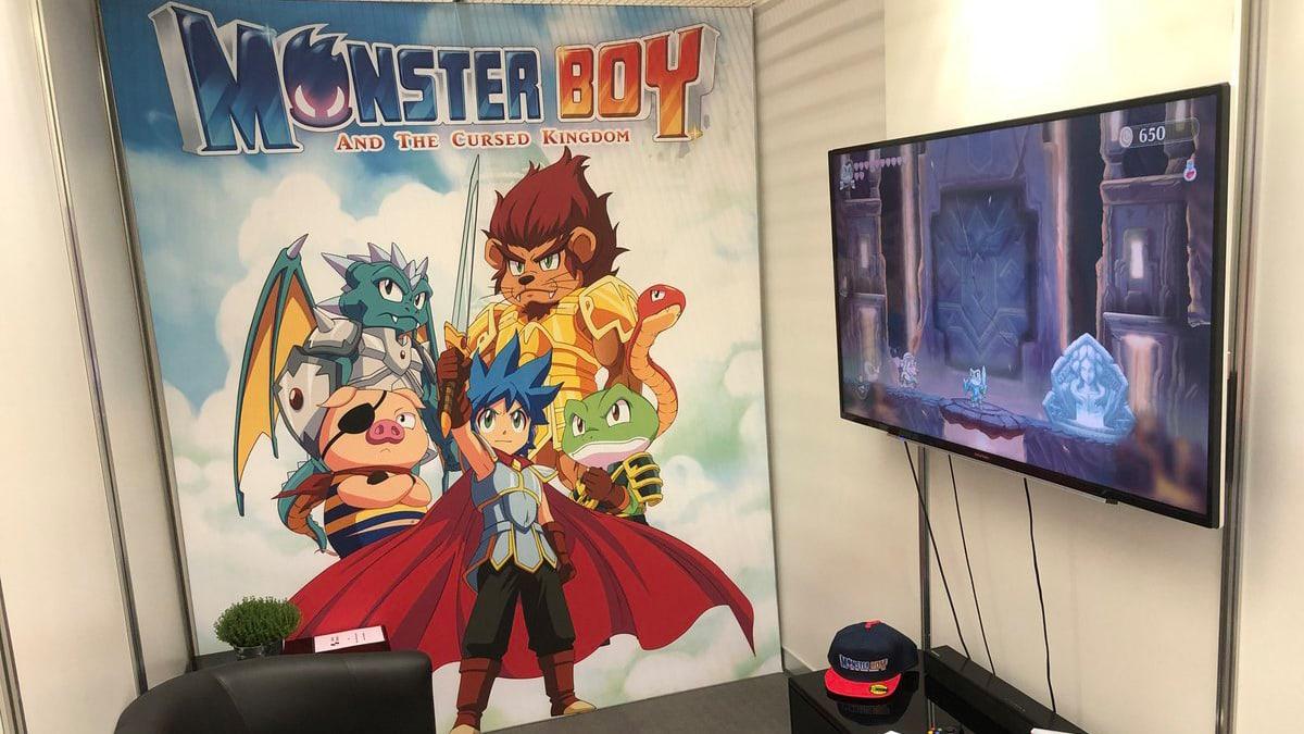 monster boy fdg gamescom 2018 booth