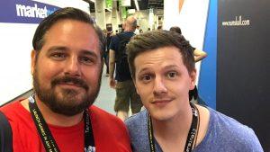 gamescom 2018 - me and twitter legend toadsanime