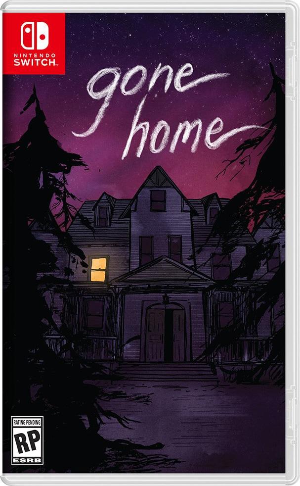 gone home iam8bit limitedgamenews.com nintendo switch cover