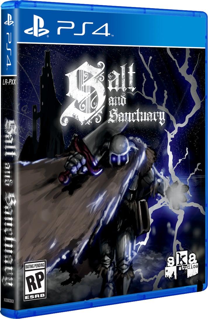 salt and sanctuary limitedrungames.com limitedgamenews.com ps4 cover