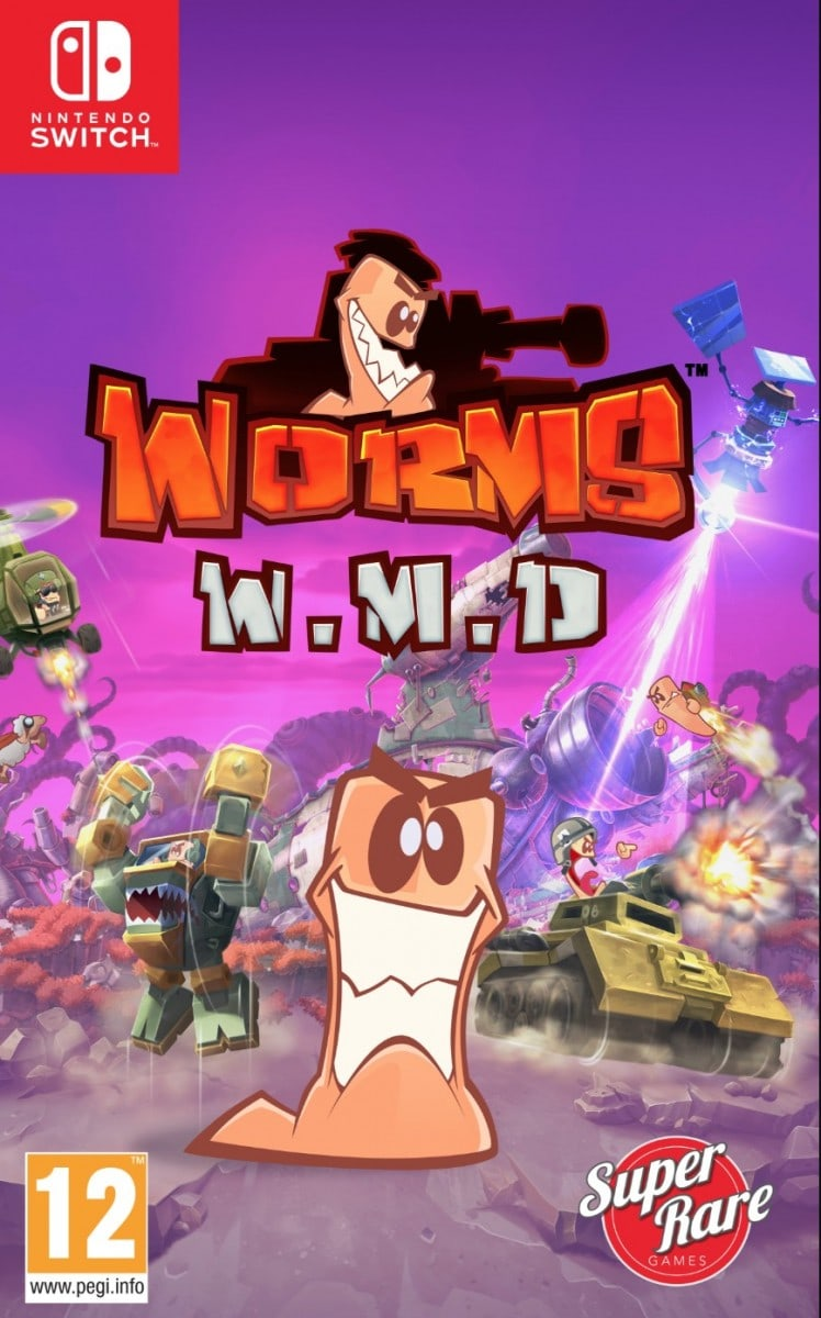 worms wmd team 17 superraregames.com limitedgamenews.com nintendo switch