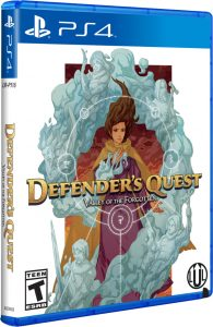 defenders quest valley of the forgotten limitedrungames ps4 cover limitedgamenews.com