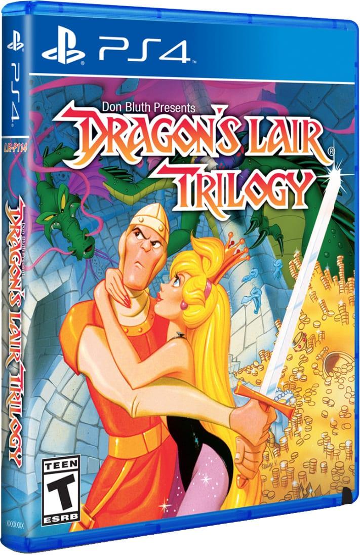 dragons lair limitedrungames ps4 cover limitedgamenews.com