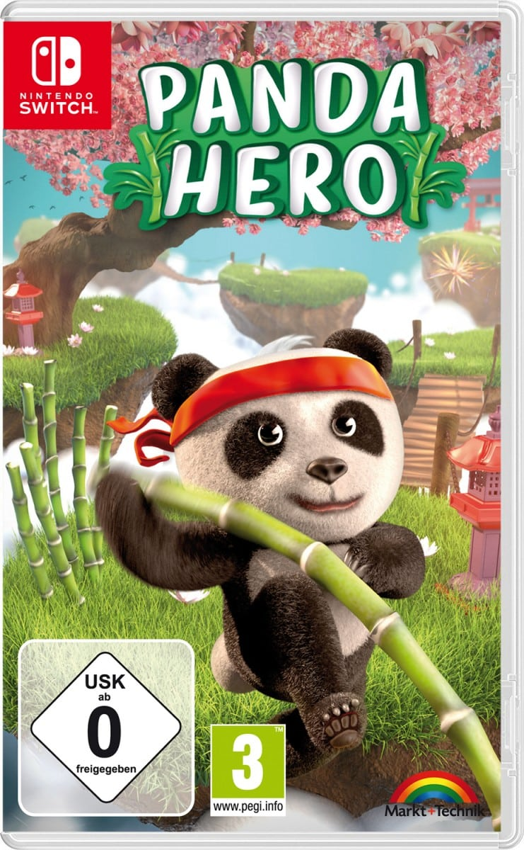 panda hero nintendo switch cover