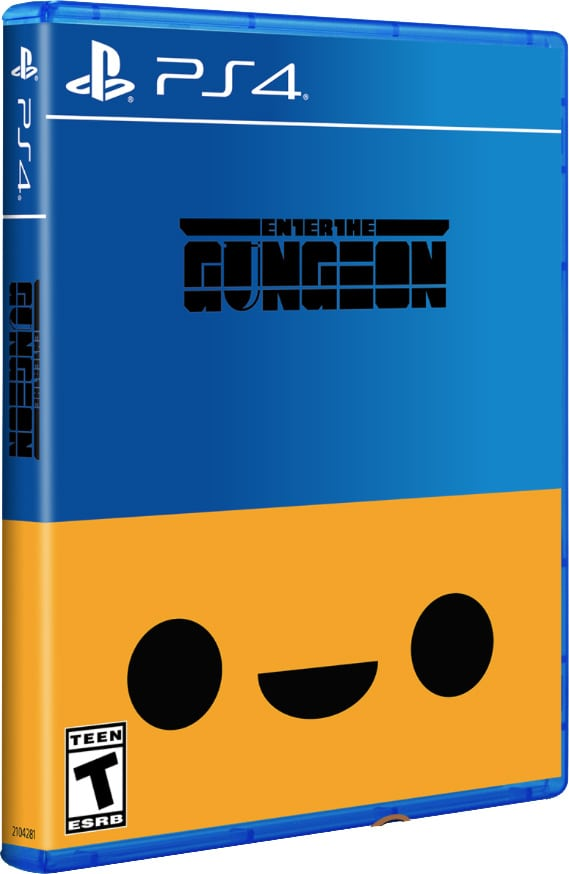 enter the gungeon limitedrungames variant ps4 cover