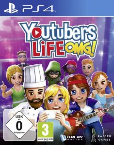 youtubers life nintendo switch ps4 xbox one cover limitedgamenews.com