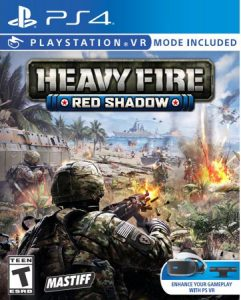 heavy fire red shadow ps4 psvr cover limitedgamenews.com