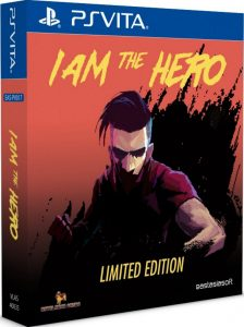 i am the hero limited edition psvita cover limitedgamenews.com