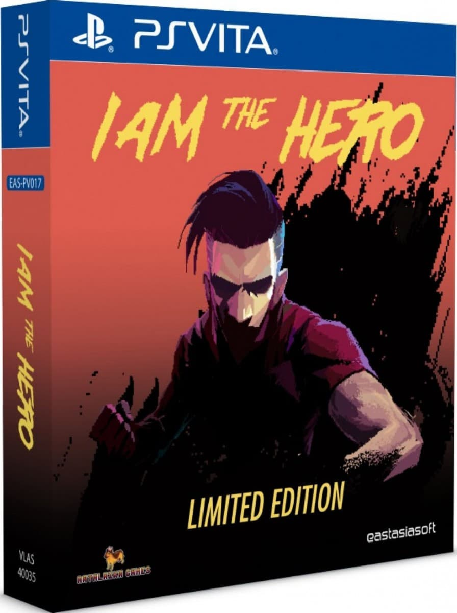 i am the hero limited edition psvita cover limitedgamenews.com
