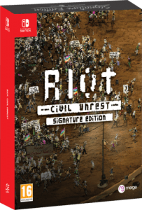 riot civil unrest signature edition nintendo switch cover limitedgamenews.com