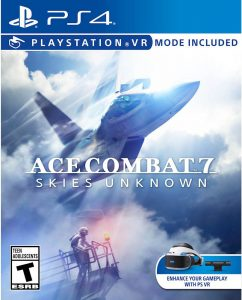 ace combat 7 skies unknown ps4 psvr cover limitedgamenews.com
