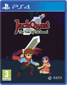 jackquest the tale of the sword red art games ps4 cover limitedgamenews.com