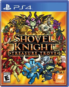 shovel knight treasure trove ps4 cover limitedgamenews.com