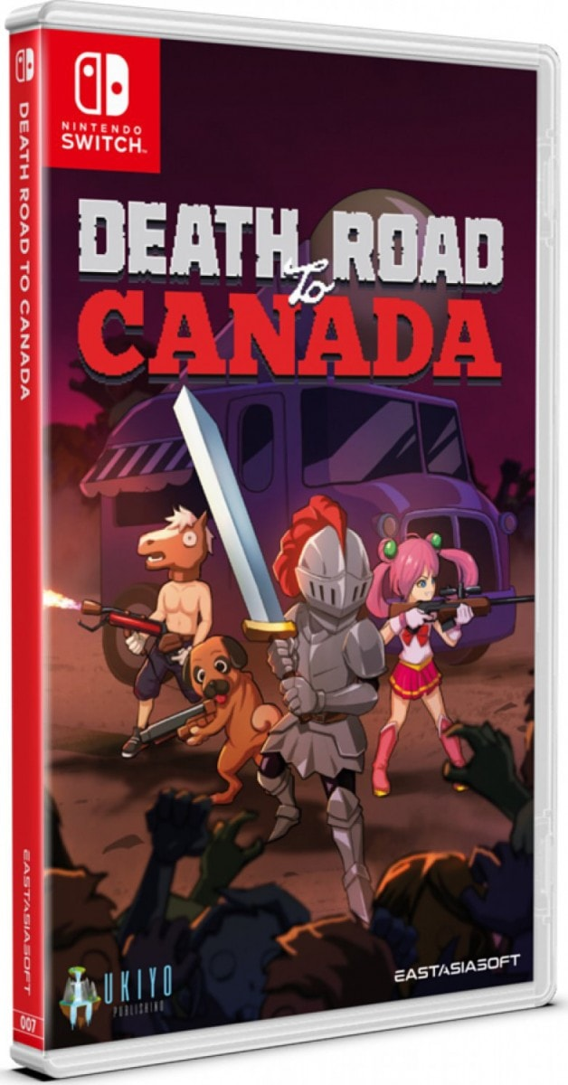 death road to canada standard edition eastasiasoft nintendo switch cover limitedgamenews.com
