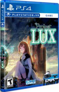 proejct lux limited run games ps4 psvr cover limitedgamenews.com