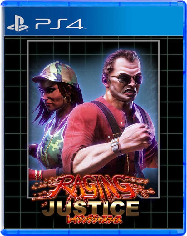 raging justice strictly limited games ps4 cover limitedgamenews.com