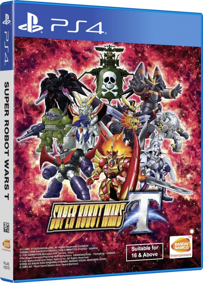 super robot wars t english ps4 cover limitedgamenews.com