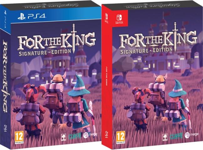 for the king retail signature edition games ps4 nintendo switch box limitedgamenews.com