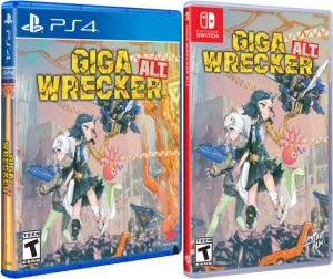 giga alt wrecker retail limited run games ps4 nintendo switch cover limitedgamenews.com